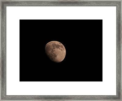 Huge Rock Framed Print by Desborne Oneil