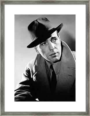 Humphrey Bogart Framed Print by Mountain Dreams