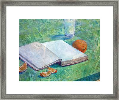 Hunger And Thirst Framed Print by Arlissa Vaughn
