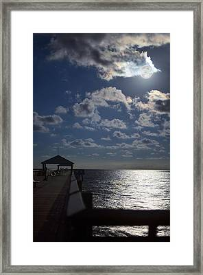 Hunter's Moon Framed Print by Laura Fasulo