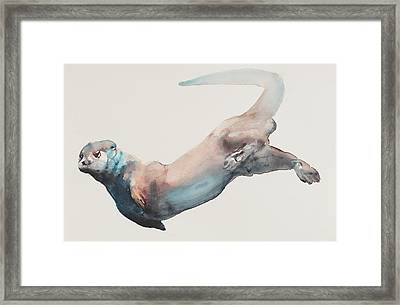 Hunting In The Deep Framed Print by Mark Adlington