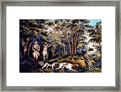 Hunting: Woodcock, 1852 Framed Print by Granger