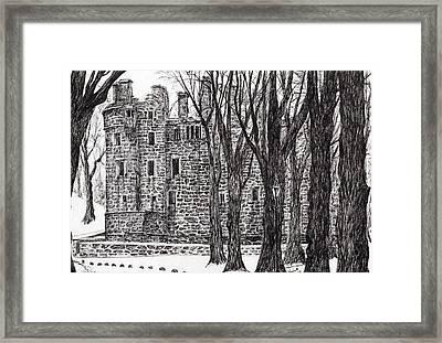 Huntly Castle Framed Print by Vincent Alexander Booth