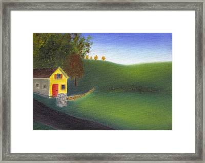 Hurlock Hills Framed Print by Tim Webster