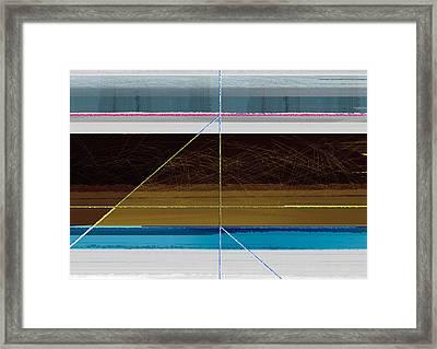 Hurricane Calm Framed Print by Naxart Studio