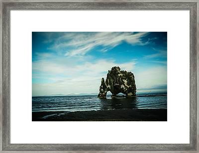 Hvitserkur Iceland Framed Print by Mirra Photography
