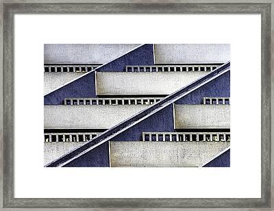 Hyatt Abstract Framed Print by Bill Gallagher