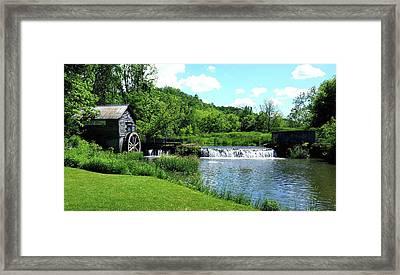 Hyde's Mill Framed Print by Tiffany Erdman