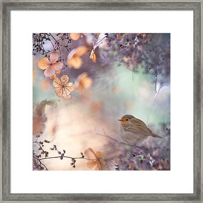 Hydrangea Fantasy Framed Print by Teuni