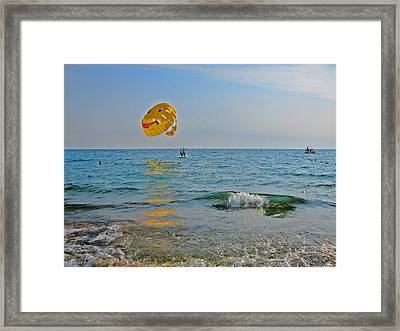 Hydrotherapeutic Procedure Framed Print by Andy Za