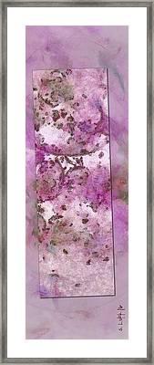 Hyperthyroidization Weave  Id 16097-180124-56543 Framed Print by S Lurk