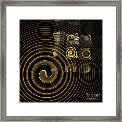 Hypnosis Framed Print by Oni H