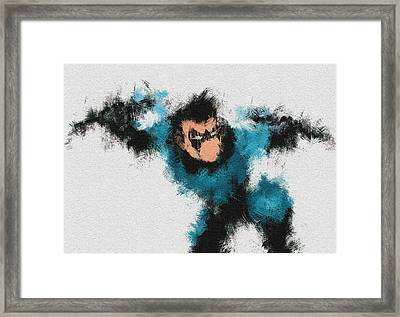 I Aint Kid Framed Print by Miranda Sether