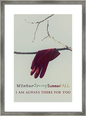 I Am Always There For You Framed Print by Joana Kruse