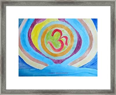 I Am Existence Framed Print by Sonali Gangane