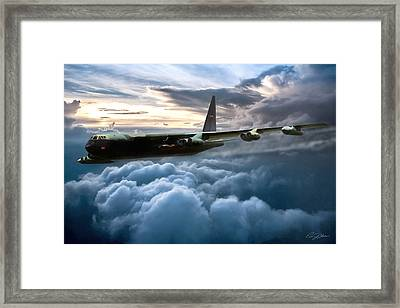 I Am Legend B-52 Framed Print by Peter Chilelli