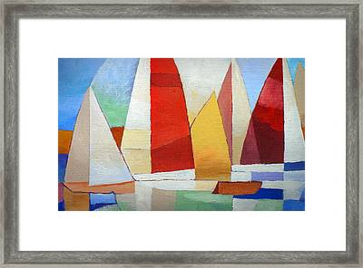 I Am Sailing X L Framed Print by Lutz Baar