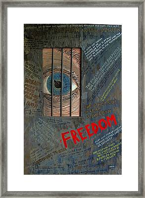 I Can See Freedom Framed Print by Ian Duncan MacDonald