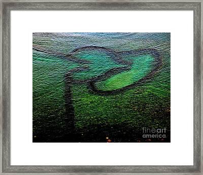 I Carry Your Heart With Me Framed Print by MingTa Li