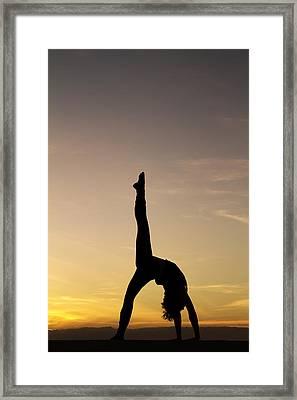I Feel Free Framed Print by Stelios Kleanthous
