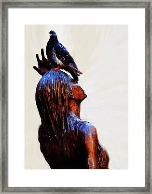 I Get No Respect Framed Print by Al Bourassa
