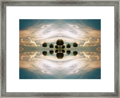 I Imagine The Paradise Framed Print by Renata Vogl