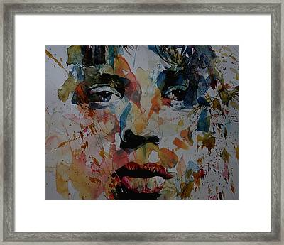 I Know It's Only Rock N Roll But I Like It Framed Print by Paul Lovering