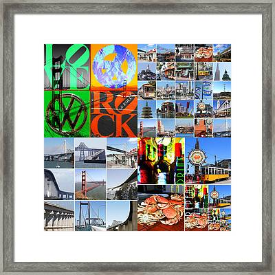 I Left My Heart In San Francisco 20140418 Framed Print by Wingsdomain Art and Photography