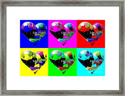 I Left My Heart In San Francisco Framed Print by Wingsdomain Art and Photography