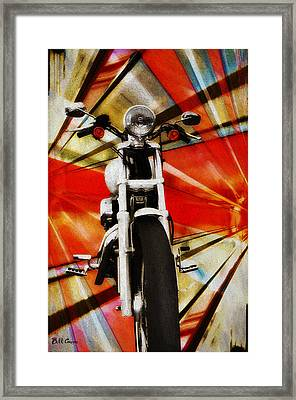 I Like Bikes Framed Print by Bill Cannon