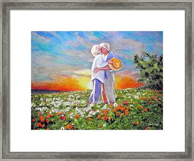 I Love You Darling Framed Print by Michael Durst