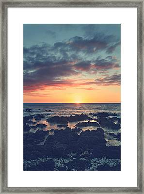 I Open My Heart Framed Print by Laurie Search