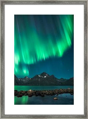 I See Fire Framed Print by Tor-Ivar Naess