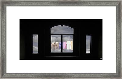 I See The Way Framed Print by Wayne King