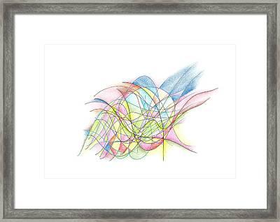 I See You Framed Print by Alla Ilencikova