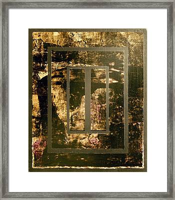 I See You In There Framed Print by Bobby Zeik