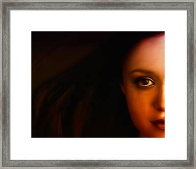 I See You Framed Print by Mark Denham