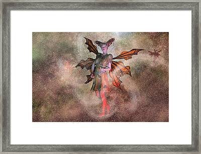 I See Your Fairy Dust And Raise You This Framed Print by Betsy C Knapp