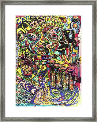 I Want To Be In That Number Framed Print by Robert Wolverton Jr
