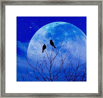 I Would Give You The Moon Framed Print by John Rivera