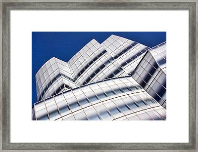 Iac Building Framed Print by June Marie Sobrito