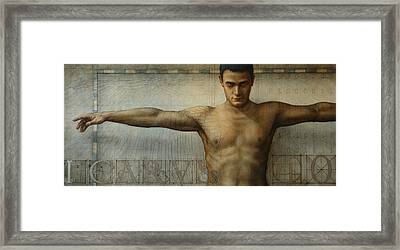 Icarus 4.0 Framed Print by Jose Luis Munoz Luque