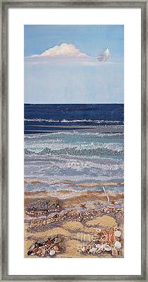 Icarus Flying Framed Print by Stanza Widen