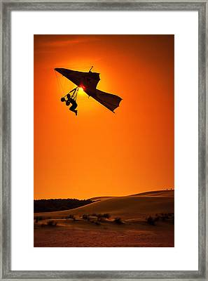 Icarus Framed Print by Neil Shapiro