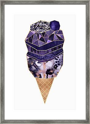 Ice Cream 1 Framed Print by Elisabeth Fredriksson