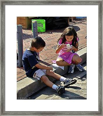 Ice Cream Framed Print by Brian Wallace