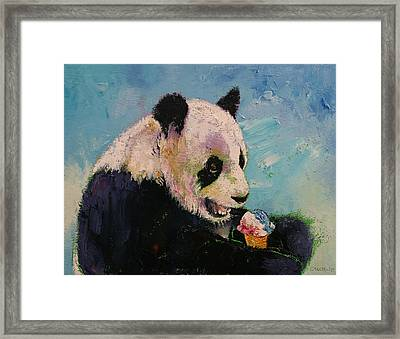 Ice Cream Framed Print by Michael Creese