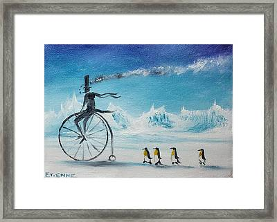 Ice Cycle No 1 Framed Print by Jason Etienne