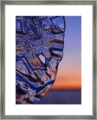 Ice Lord Framed Print by Sami Tiainen