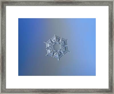 Ice Relief II Framed Print by Alexey Kljatov